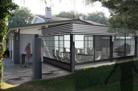 photomontage veranda LAMES INOX